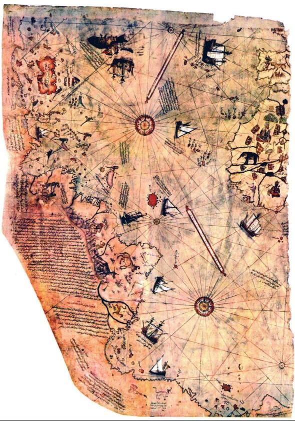 El mapa de Piri Reis: Un misterio que cumple 500 años