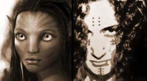 La mujer Na'vi y la mujer Guanche