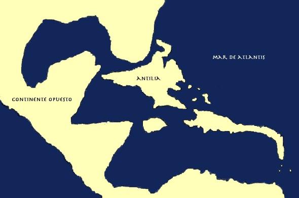 La Isla de Antilia: La desconocida silueta del Caribe en tiempos de Atlantis